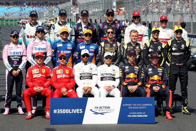 2019年F1オーストラリアGPドライバー記念撮影