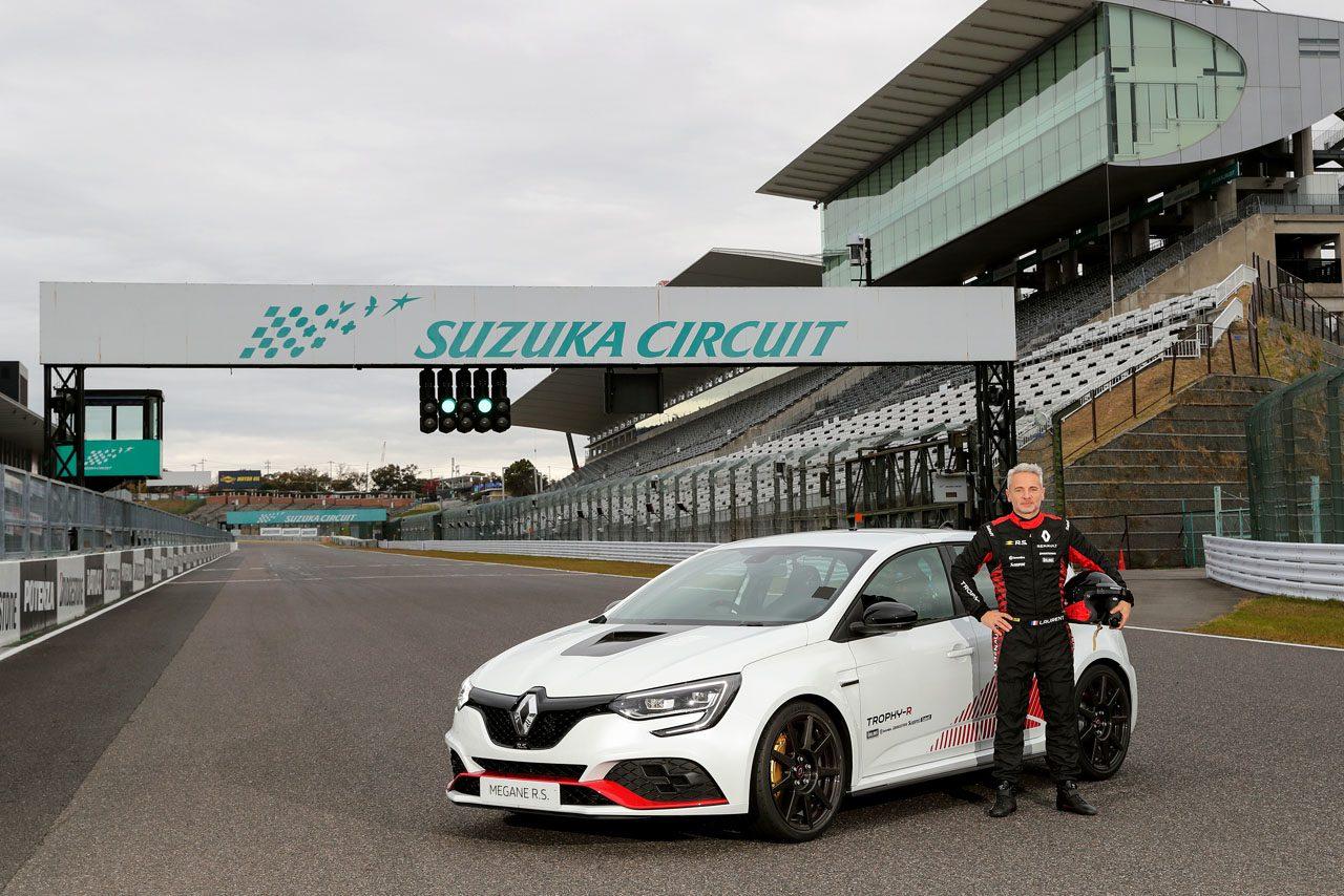 ニュル、スパに続き日本でも。新型ルノー・メガーヌR.S.が鈴鹿サーキットで量産FF最速タイムを記録