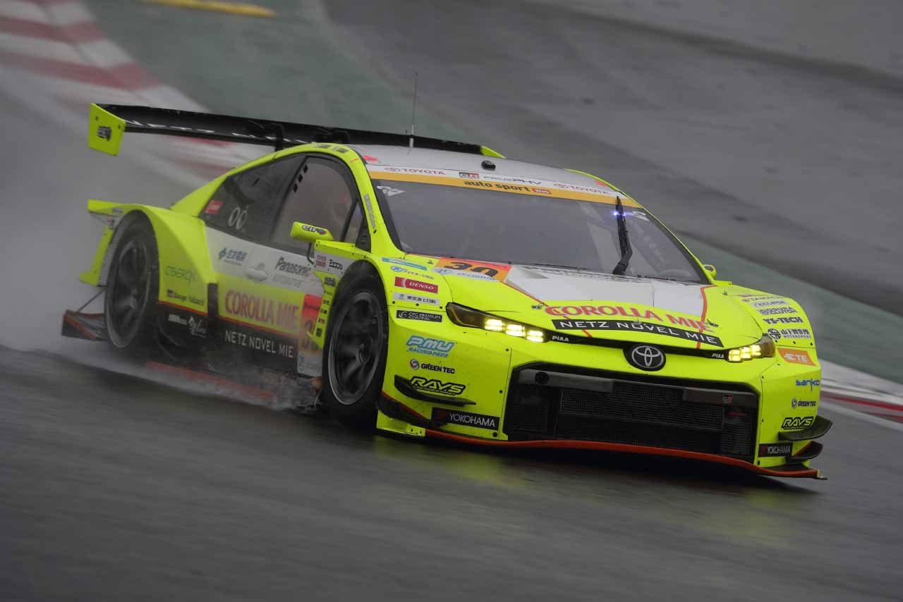 30号車TOYOTA GR SPORT PRIUS PHV apr GT auto sport Web Sprint Cup レースレポート