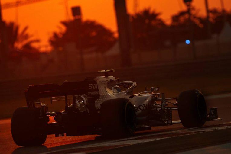F1 | F1アブダビGP FP2:初日最速はボッタス。ホンダPU勢は4台がトップ10内へ