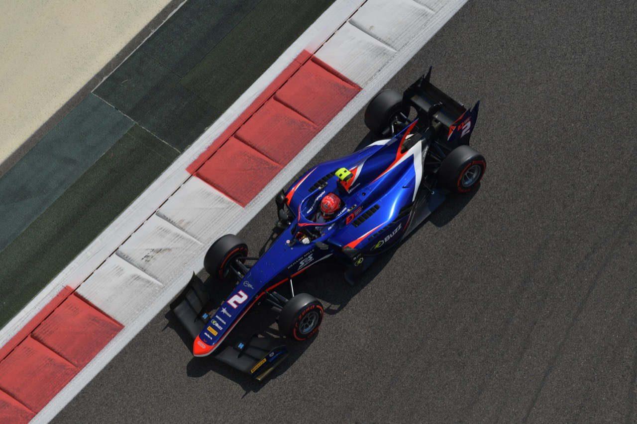 松下信治はセカンドロウ奪取【順位結果】FIA-F2第12戦アブダビ予選