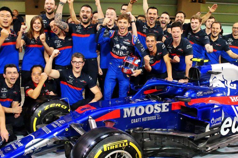F1 | ガスリー、ルノーのオイルを浴びるアクシデントも、FP2は順調「初日10番手は悪くない」トロロッソ・ホンダF1