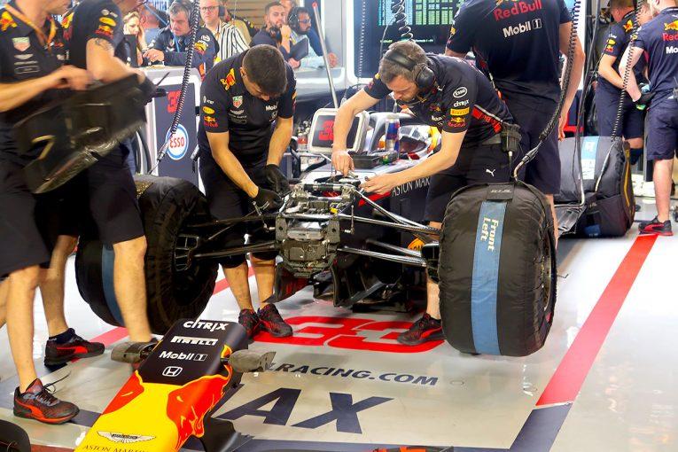 F1 | レッドブル・ホンダ密着:ドライバーズ選手権3位を巡る最後の戦い/F1アブダビGP金曜