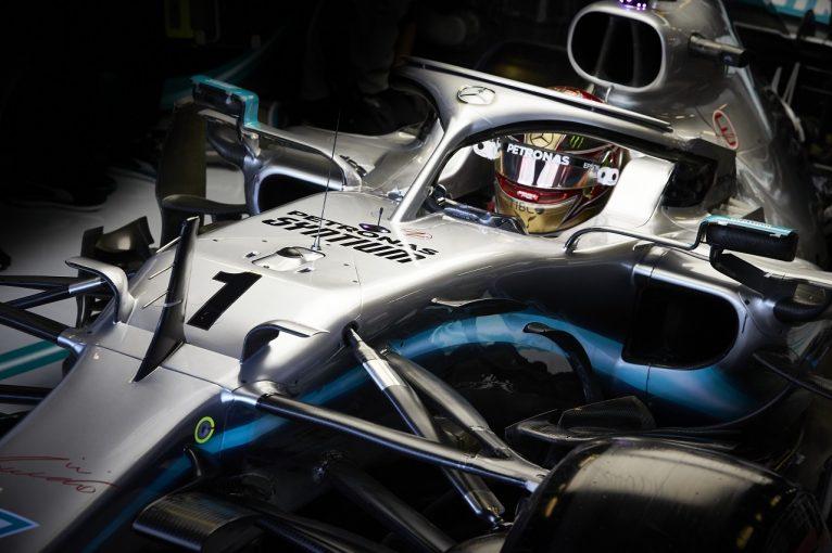 F1 | カーナンバー1で走行したハミルトン「今日最速でなくても気にしない。将来のための作業に集中」メルセデスF1