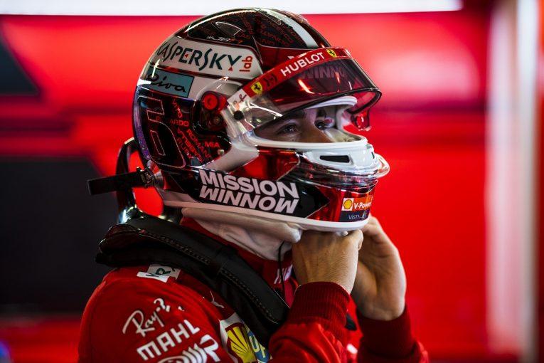 F1 | ルクレール初日3番手「ライバルたちはまだ実力を見せていない」:フェラーリ F1アブダビGP