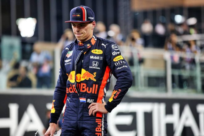 2019年F1最終戦アブダビGP マックス・フェルスタッペン(レッドブル・ホンダ)
