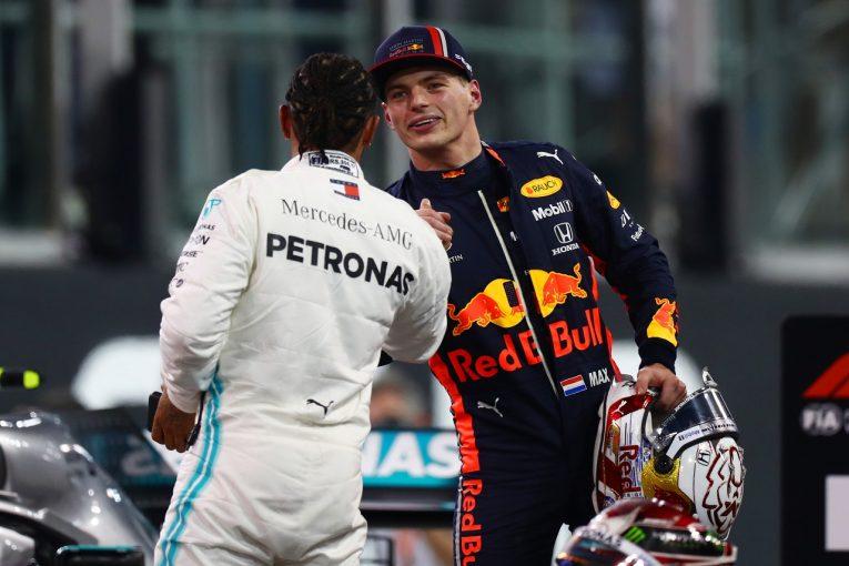 F1 | フェルスタッペン、2番手から優勝狙う「チャンスはある。最後まで諦めずルイスに挑む」レッドブル・ホンダF1