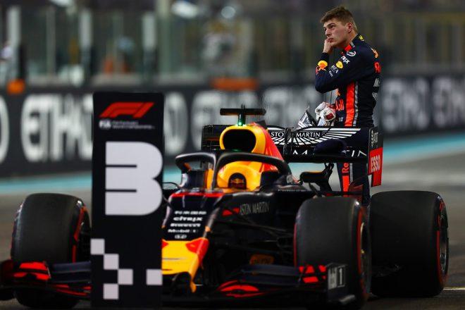 2019年F1第21戦アブダビGP 予選3番手のマックス・フェルスタッペン(レッドブル・ホンダ)