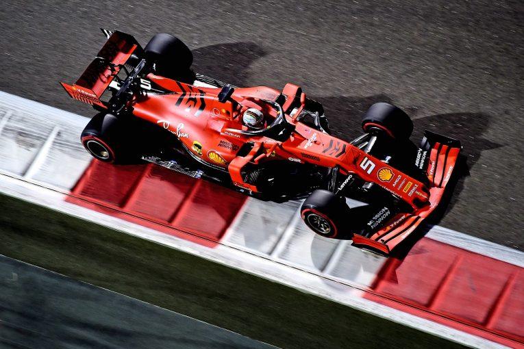 F1 | フェラーリF1、新車発表直前に18インチタイヤのテストも、2020年型マシンの使用は許されず
