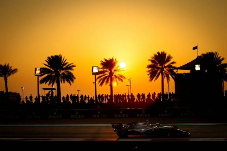 F1 | 予選2番手のボッタスは最後尾から/F1アブダビGPグリッド