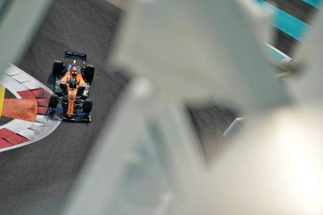 2019年F1最終戦アブダビGP カルロス・サインツJr.(マクラーレン)