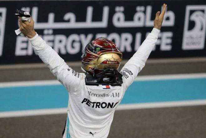 2019年F1最終戦アブダビGP ルイス・ハミルトン(メルセデス)が優勝