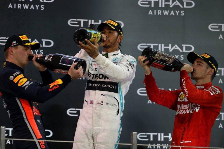 F1 | F1アブダビGP決勝:王者ハミルトンが貫禄の勝利。2位のフェルスタッペンは選手権3位で終える