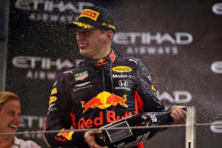 F1 | フェルスタッペン、フェラーリを抑えて選手権3位に「ホンダと共にいいシーズンを送れた。2020年は王座目指す」