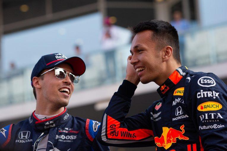 F1 | アルボン6位「プランがうまくいかず、ベッテルに敗れた」:レッドブル・ホンダ F1アブダビGP