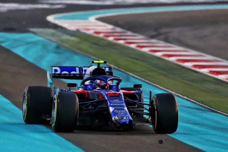 F1 | ガスリー、接触が響き選手権6位を失う「悔しい。速さがあるのに戦えずに終わった」トロロッソ・ホンダF1