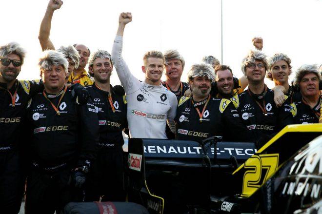 2019年F1第21戦アブダビGP ニコ・ヒュルケンベルグ(ルノー)