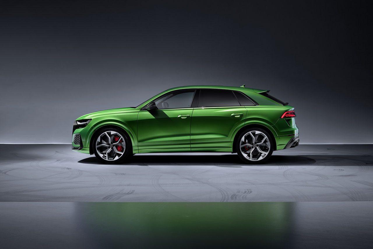 最高600馬力、0-100キロ加速3.8秒の最強Qモデル。アウディスポーツ謹製『RS Q8』誕生