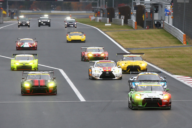 植毛GO&FUN GT-R auto sport Web Sprint Cup レースレポート