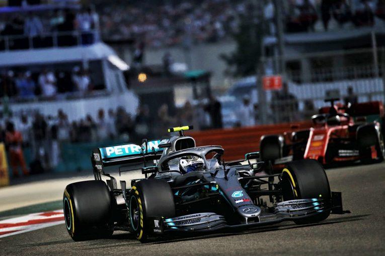 F1 | ボッタス、最後尾から4位「表彰台まで0.944秒。楽しいレースだった」:メルセデス F1アブダビGP