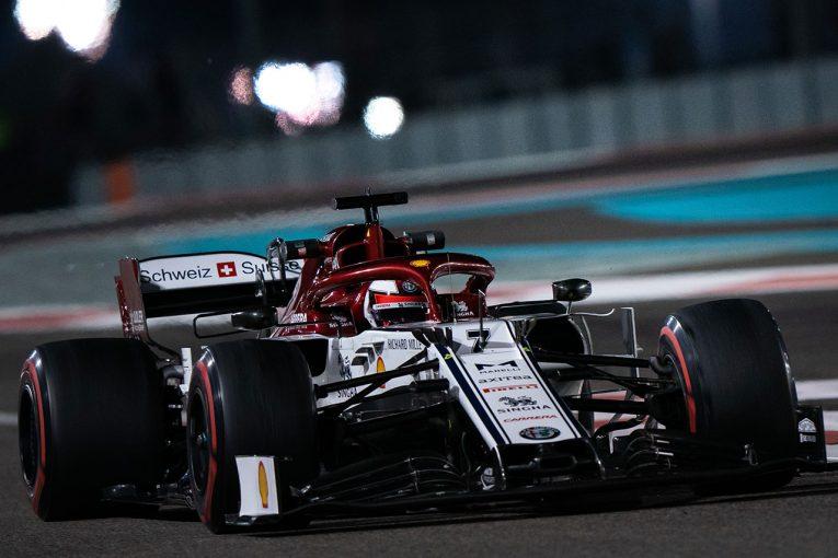 F1 | ライコネン「レースペースは良かった。できることはすべてやったので胸を張っていい」:アルファロメオ F1アブダビGP日曜