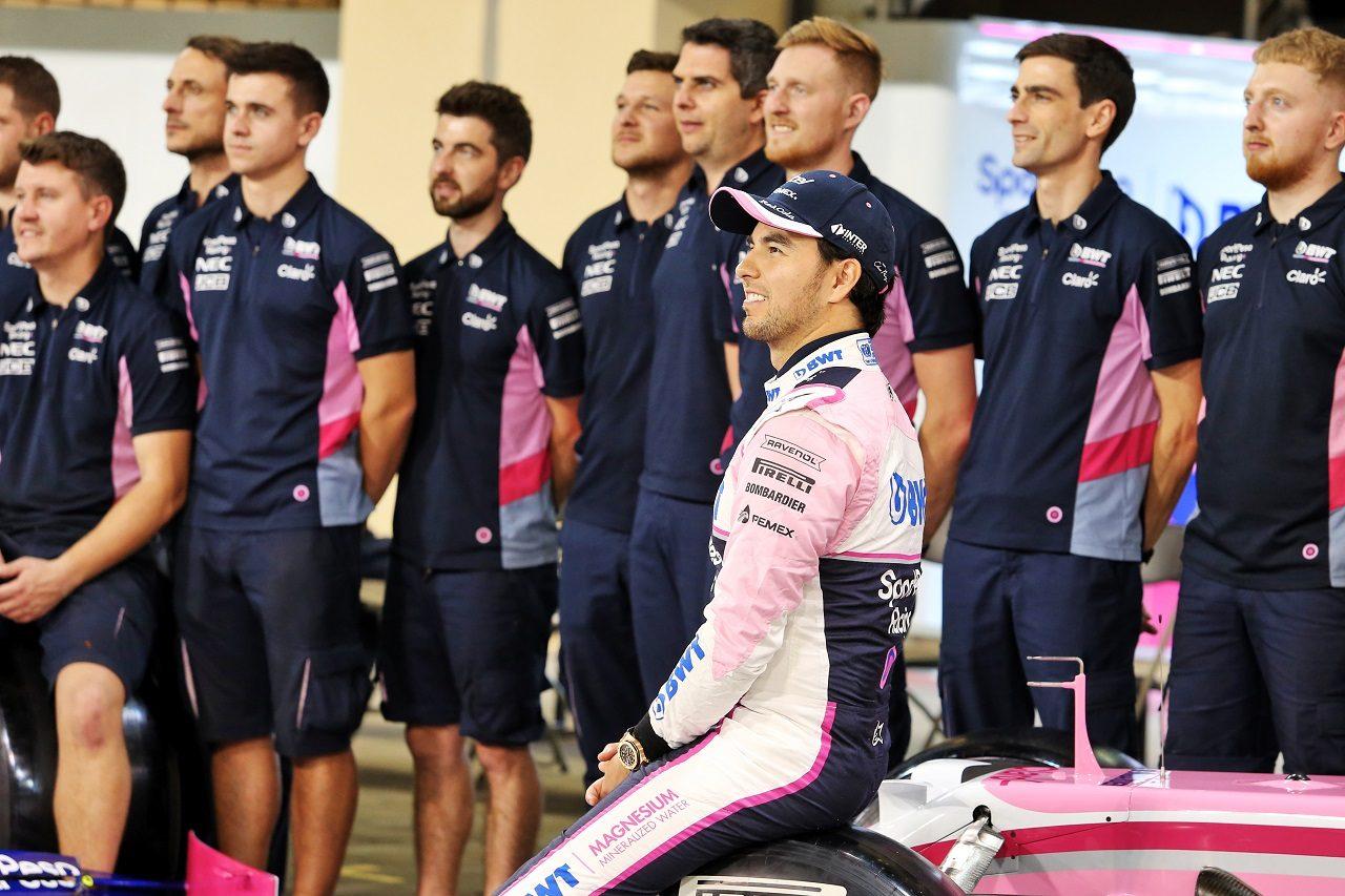 2019年F1第21戦アブダビGP セルジオ・ペレス(レーシングポイント)