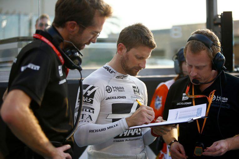 F1 | グロージャン「金曜日のクラッシュのせいで仕様変更を強いられた。来年はもっといい展開になることを願う」:ハース F1アブダビGP日曜