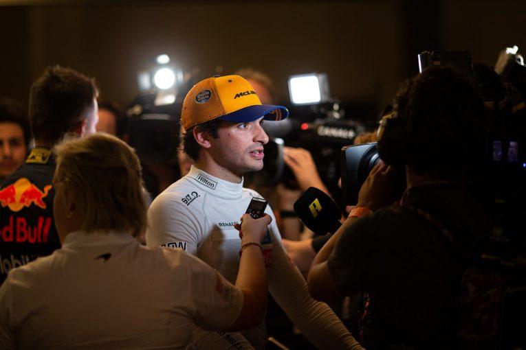 F1 | サインツJr、最終ラップでつかんだ選手権6位「このレースは一生忘れられない」:マクラーレンF1