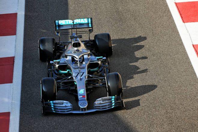 2019年F1アブダビテスト1日目 バルテリ・ボッタス(メルセデス)