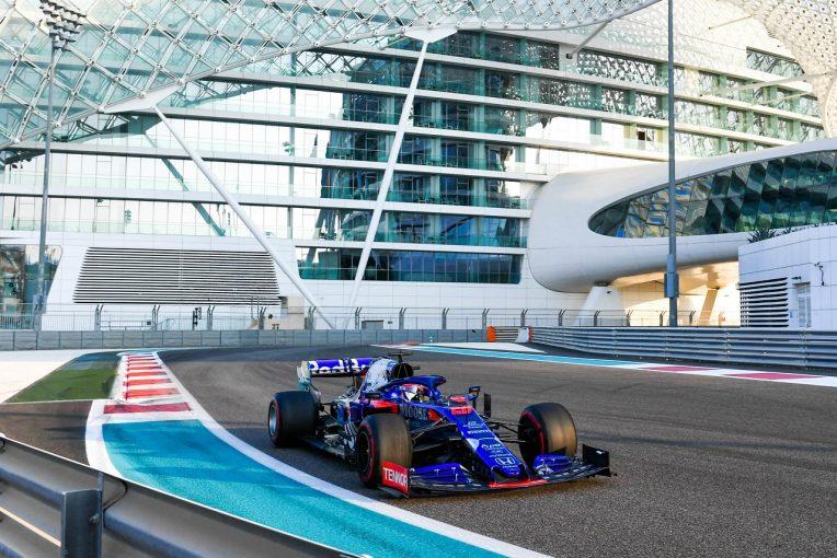 F1 | 【F1アブダビテスト1日目・タイム結果】トロロッソ・ホンダのクビアトが3番手。フェルスタッペンは最多周回重ねる