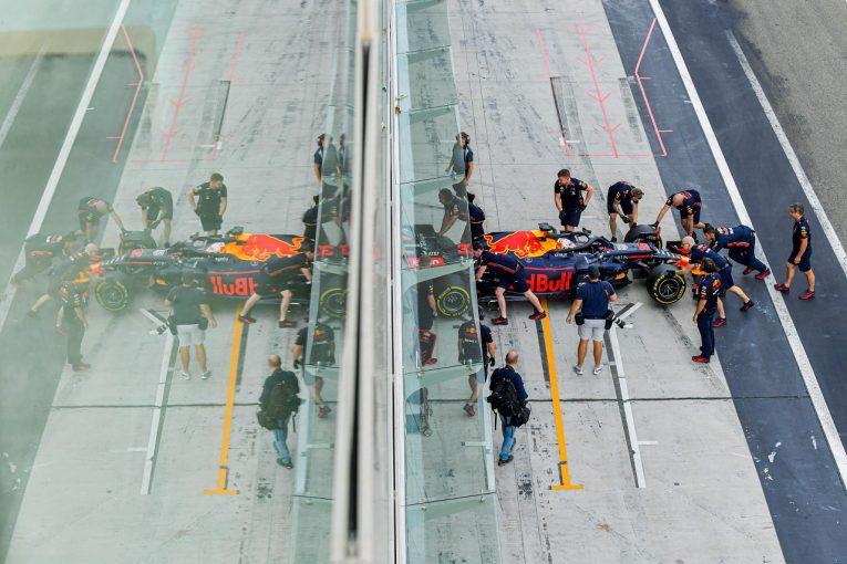 F1 | ホンダF1のフェルスタッペンとクビアトがアブダビテストに参加「有意義な走行をし、タイヤについて理解を深めた」