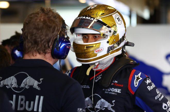 2019年F1アブダビテスト ショーン・ゲラエル(トロロッソ・ホンダ)