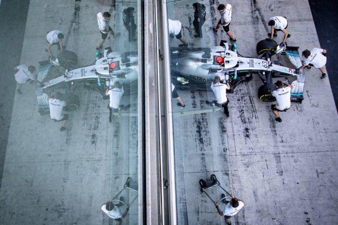 2019年F1アブダビテスト2日目 ジョージ・ラッセル(メルセデス)