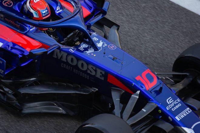 2019年F1アブダビテスト2日目 ピエール・ガスリー(トロロッソ・ホンダ)