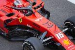 2019年F1アブダビテスト2日目 シャルル・ルクレール(フェラーリ)