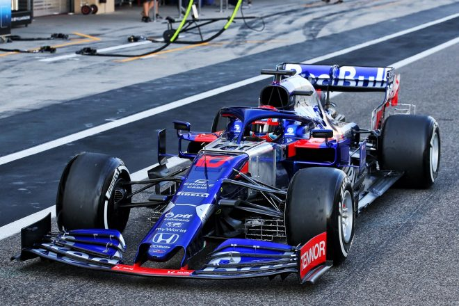 2019年F1アブダビテスト ピエール・ガスリー(トロロッソ・ホンダ)