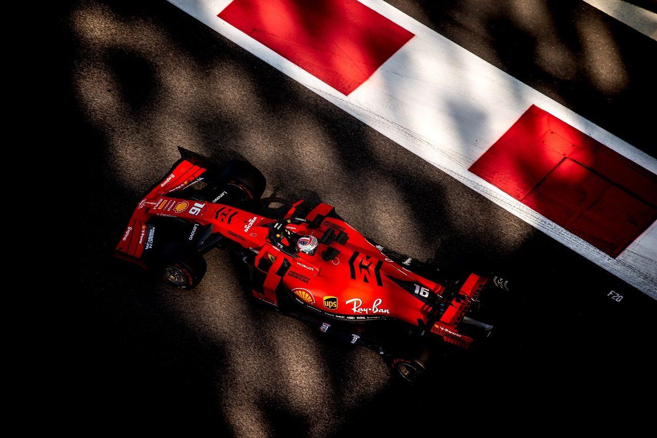 2019年F1アブダビテスト シャルル・ルクレール(フェラーリ)
