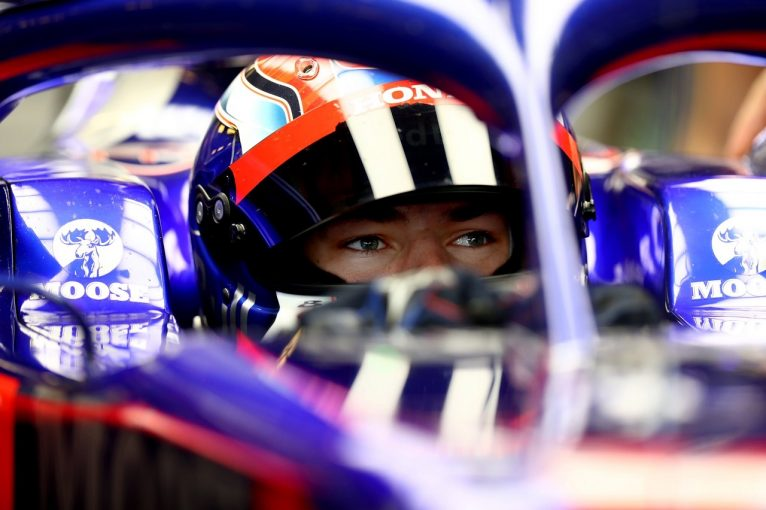 F1   ガスリー、トロロッソSTR14・ホンダでの最後のテスト終える「有意義な一日。最高の形でシーズンを締めくくれた」