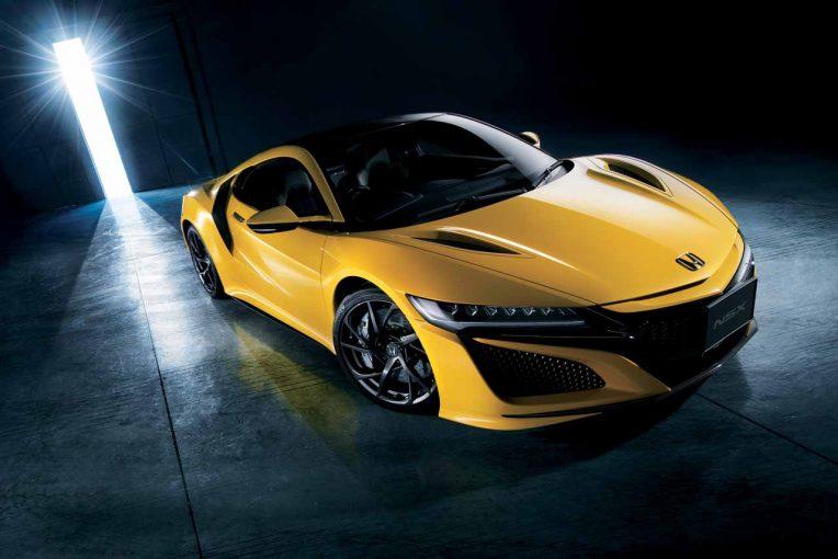 クルマ | ホンダ、NSXの2020年モデル発表。鮮やかな新色インディイエロー・パールllが追加