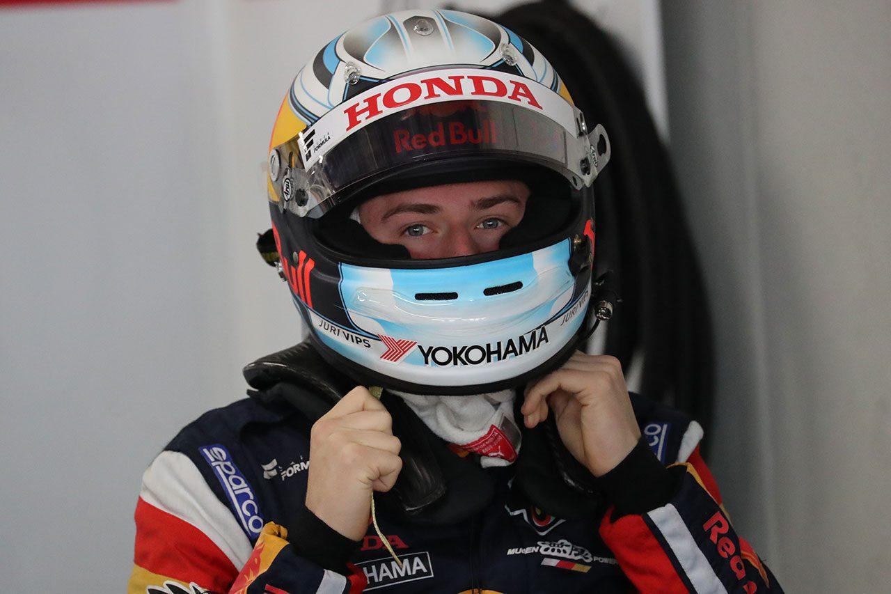 全日本スーパーフォーミュラ選手権合同テスト・ルーキードライバーテスト ユーリ・ビップス(TEAM MUGEN)