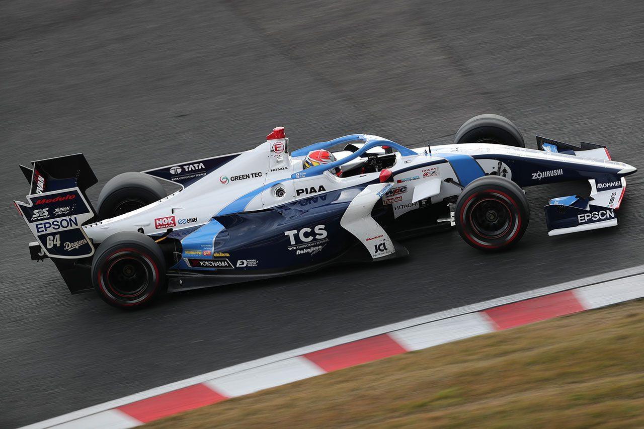 全日本スーパーフォーミュラ選手権合同テスト・ルーキードライバーテスト 大津弘樹(TCS NAKAJIMA RACING)