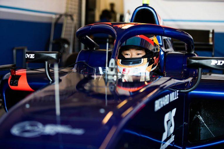 海外レース他 | F1 Topic:レッドブル首脳も注目する角田裕毅がF2アブダビテストに参加
