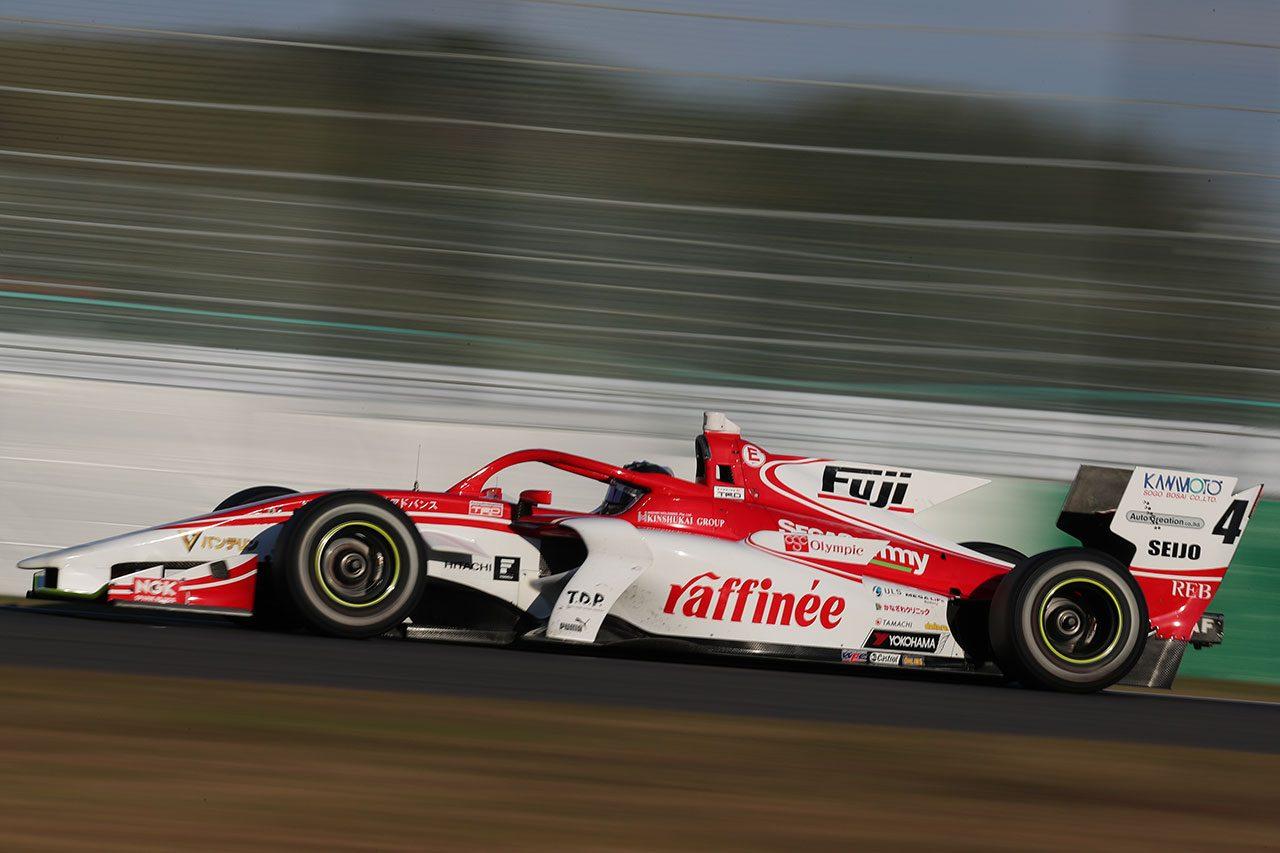 全日本スーパーフォーミュラ選手権合同テスト・ルーキードライバーテスト サッシャ・フェネストラズ(KONDO RACING)