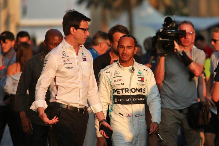 F1 | 「2021年F1のシート争いはすでに始まっている」とハミルトン。メルセデス代表に多数の売り込みと明かす