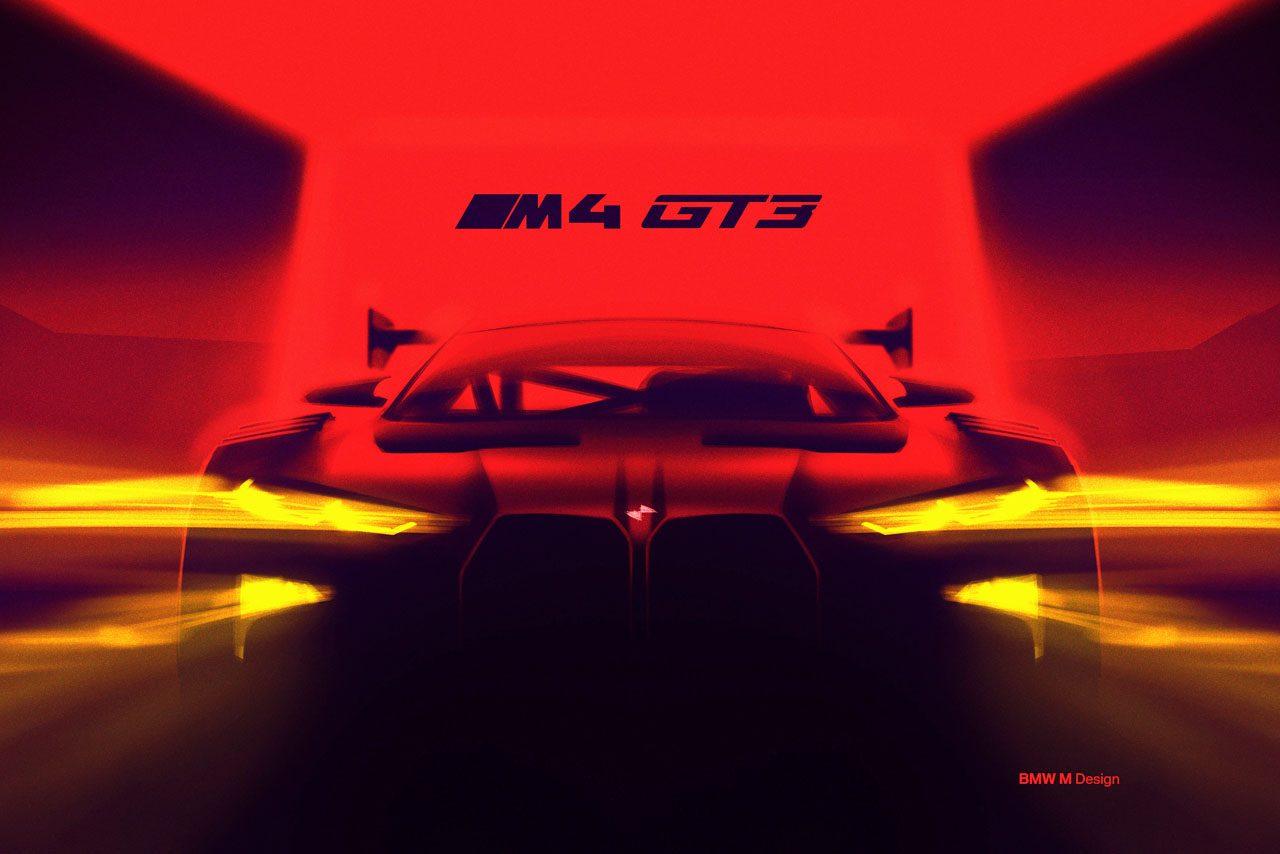 BMW、『M4』ベースの新型GT3カーを開発中。2022年に登場へ