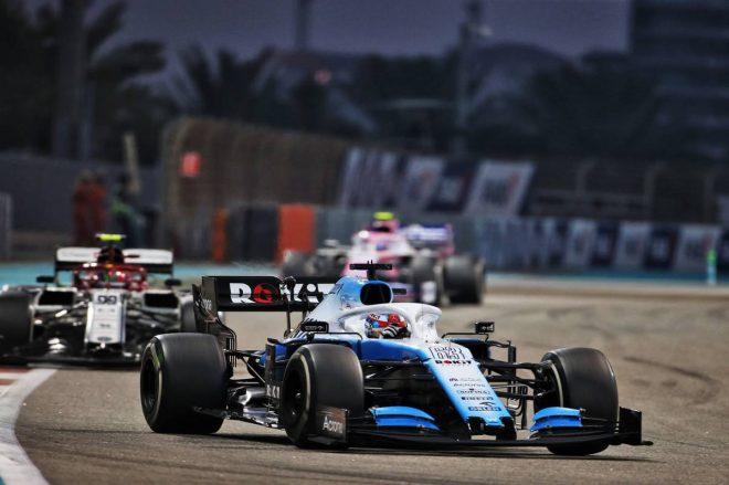 2019年F1最終戦アブダビGP ジョージ・ラッセル(ウイリアムズ)