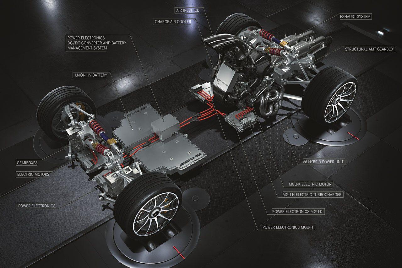 【動画】F1王者ハミルトン、メルセデスAMG製ハイパーカーと初対面「レースカーと同じ音」