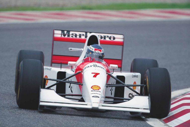 F1 | ホンダエンジンを失ったマクラーレンMP4/8をハッキネンが語る「素晴らしいクルマだが重大な欠点があった」