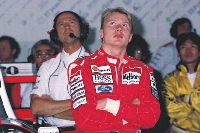 1993年にマクラーレンに移籍したミカ・ハッキネン