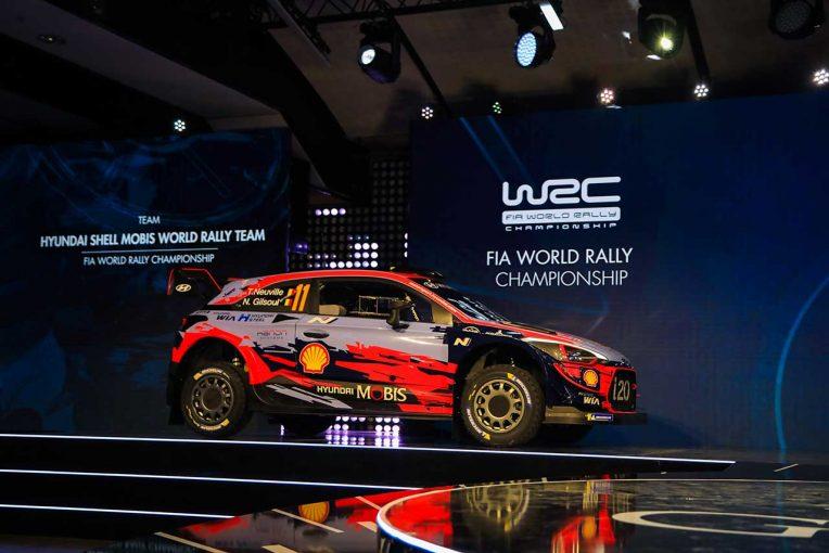 ラリー/WRC | WRC:ヒュンダイが初のチャンピオントロフィー受け取る。全11話のシーズンドキュメントも公開へ